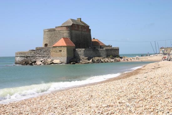 Le fort d'Ambleteuse (côte d'Opale)